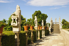 Giardino episcopale di Jardim, Castelo Branco Fotografia Stock Libera da Diritti