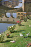 Giardino in Florence Italy fotografie stock libere da diritti