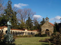Giardino Franciscan del monastero, Washington DC Immagini Stock