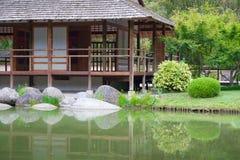 Giardino giapponese Immagini Stock