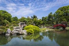 Giardino giapponese, Buenos Aires, Argentina fotografia stock libera da diritti