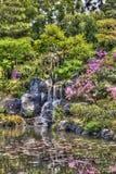 Giardino giapponese con effetto di HDR Fotografia Stock Libera da Diritti