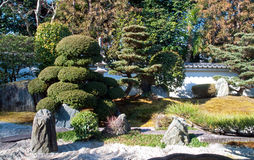 Giardino giapponese di paesaggio Immagine Stock Libera da Diritti