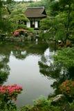 Giardino giapponese di paesaggio Fotografia Stock Libera da Diritti