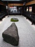 Giardino giapponese di zen Fotografie Stock