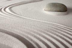 Giardino giapponese di zen di rilassamento Immagine Stock Libera da Diritti