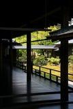 Giardino giapponese di zen a Kyoto Fotografie Stock
