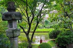 Giardino giapponese a Montevideo Fotografia Stock