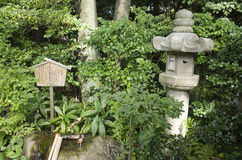 Giardino giapponese, Nagoya, Giappone fotografia stock libera da diritti
