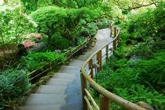 Giardino giapponese nei giardini del butchart Immagini Stock