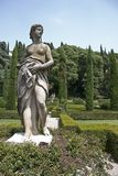 Giardino Giusti,Verona,Italy Royalty Free Stock Photo