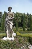 Giardino Giusti,Verona,Italy Royalty Free Stock Photo