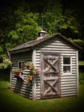 Tettoia rustica del giardino Immagine Stock