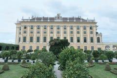 Giardino informato, palazzo di Schonbrunn Fotografie Stock Libere da Diritti
