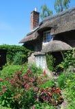 Giardino inglese del cottage Immagini Stock