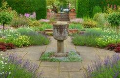 Giardino inglese di estate Immagini Stock Libere da Diritti