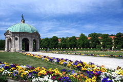 Giardino a Monaco di Baviera Fotografie Stock