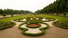 Giardino nel castello di Schwetzingen, Germania Fotografie Stock Libere da Diritti