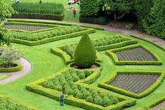 Giardino ornamentale, Scozia Immagine Stock Libera da Diritti