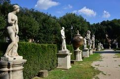 Giardino Piazzale Scipione Borghese. A beautiful garden in Villa Borghese park in Rome Stock Photography