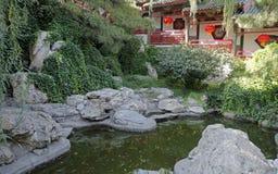 Giardino reale antico cinese. Fotografie Stock Libere da Diritti