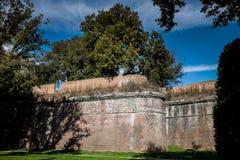 Giardino Scotto i Pisa - offentliga trädgårdar och parkerar, Italien Royaltyfria Foton