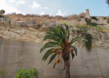 Giardino sotto le mura (Garden under the wall) in Cagliari. Giardino sotto le mura (meaning Garden under the wall) in Cagliari, Italy Royalty Free Stock Image