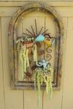 Giardino succulente della parete Fotografia Stock