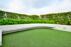 Giardino sul tetto Fotografia Stock