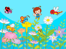 Giardino sveglio royalty illustrazione gratis