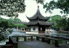 Giardino tradizionale cinese Fotografie Stock