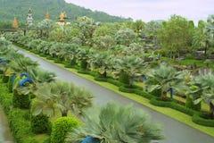 Giardino tropicale di Nong Nooch, Pattaya, Tailandia Fotografia Stock