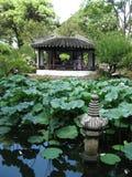 Giardino umile del ` s dell'amministratore, Suzhou, Cina Fotografia Stock