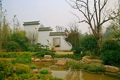 Giardino verde dell'Expo a Zhengzhou Fotografie Stock Libere da Diritti