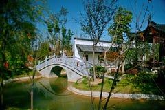 Giardino verde dell'Expo a Zhengzhou Fotografia Stock