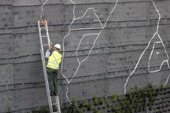 Giardino verticale Immagini Stock