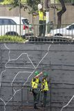 Giardino verticale Immagine Stock