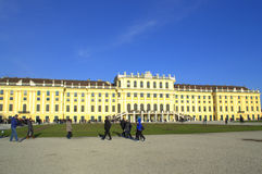 Giardino Vienna, Austria del palazzo di Schonbrunn Fotografia Stock Libera da Diritti