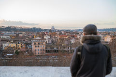Giardinodegli Aranci - Rome Royalty-vrije Stock Afbeelding