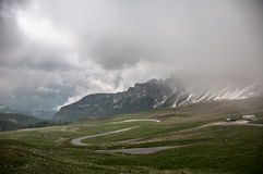 Giau Pass - Passo Giau Stock Photography