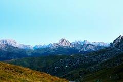 Giau przepustki góry przy światłem dziennym zdjęcie royalty free