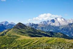 Giau przepustki góry przy światłem dziennym zdjęcia royalty free