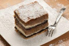 Gibanica - traditional slovenian apple cake Stock Image