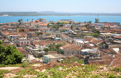 Gibara in Kuba Stockbild