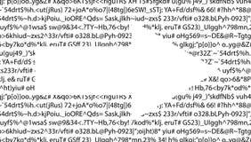 Gibberish text Royalty Free Stock Image