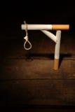 gibbet吸烟者 库存照片