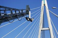 Gibbet na ponte Imagens de Stock Royalty Free