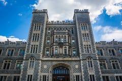 GIbbons Hall, at The Catholic University of America, in Washingt Stock Photo