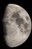 Gibbous księżyc Obrazy Royalty Free
