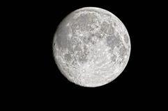 gibbous moonvax Royaltyfri Bild